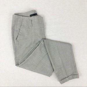 Zara Basic Grey Chino Trousers